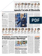 Gazzetta dello Sport 25 Maggio 2011