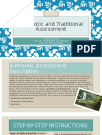 authentic and traditional assessment cur528wk3