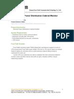 Remote Power Distribution Cabinet Monitor