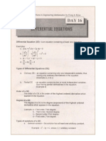 1001 Solved Problems in Engineering Mathematics [Day 16 Differential Equations]