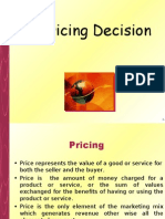 Pricing Decision