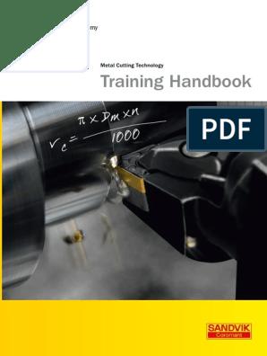 Sandvik Metal Cutting Technology Training Handbook