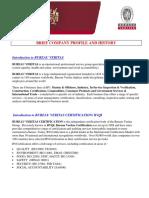 BV CER Profile 2016