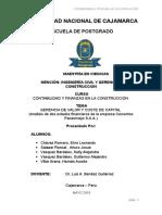 Análisis de los Estados Financieros de la empresa Pacasmayo
