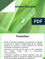 Promotion Decision