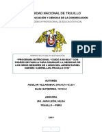 Universidad Nacional de Trujillo Investigacion