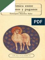Sánchez E. Polémica Entre Cristianos y Paganos