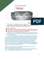 El dios triuno - Escuela Sabática - 2012-T1-L01