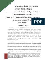 Proposal Silatnas