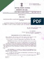 Maharastra Land Revenue Code Amendement Bill 2014.......