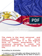 Report on Concept of State and Government