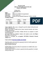 UT Dallas Syllabus for ee3101.6u1.10u taught by Tanay Bhatt (tmb018000)