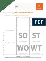 Tows Analysis Worksheet