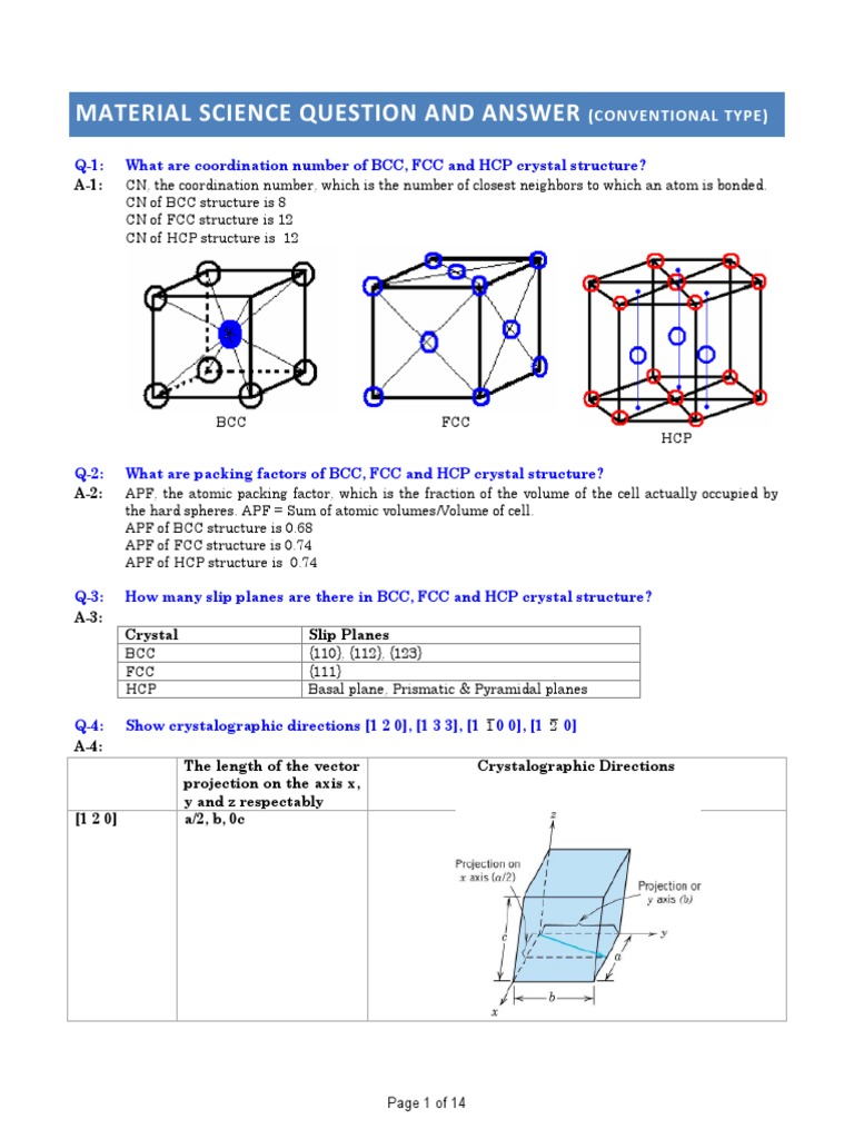 1  Material Science Conventional Question and Answer pdf   Heat