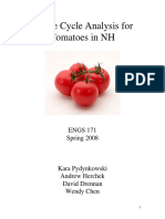 A Life Cycle Analysis for Tomatoes in NH