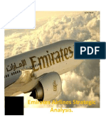 Emirates Airlines Strategic AnalysisReport