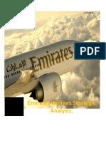 Emirates Airlines Strategic AnalysisReport