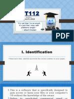 ICT112 Quiz