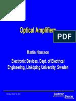 OpticalAmplifiers