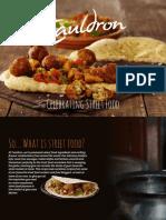 Cauldron Street Food Recipe Book