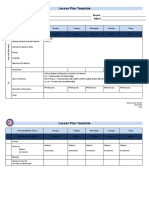Lesson Plan Template 2015 16