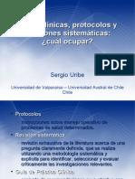 guias clinicas protocolos revisiones sistematicas