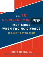 The 10 Stupidest Mistakes Men Make When Facing Divorce by Joseph Cordell -- excerpt