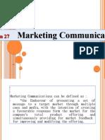 Session 27 Marketing Communication