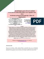 Acciones Metodológicas EF