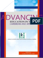 ADVANCING EDUCATION IN THE CARIBBEAN AND AFRICA - Edited by Cynthia Onyefulu, PhD