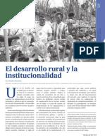 La_institucionalidad de DESARROLLO RURAL