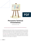 Persuasive Technical Presentations -Tracy Volz and Janice L. Hewitt
