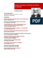 Programação Pierre Duhem UFMG