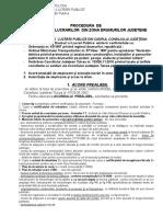 Procedura Si Documente de Autorizare Lucrari