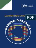 Bassma Djazairia Cahier Des Charges