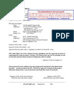 Application for Iec Nrias