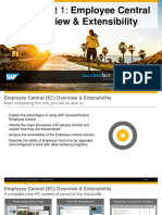 OpenSAP Sf2 at the Core Employee Central