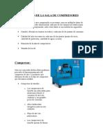Diseño de La Sala de Compresores