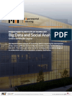 MIT Data and Social Analytics Info Pack