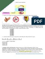 Prova 2º Ano Interpretação Prof Flavio Martins