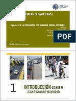Capitulo 5 de La Circulacion a La Movilidad Sostenible - JDextre