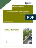 Capitulo 6 Gestion de La Movilidad Urbana