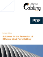 Solutions for the Protection of Offshore Wind Farm Cabling