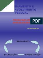 Treinamento e Desenvolvimento Pessoal