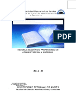 Proyectos de Inversión Silabo UPLA