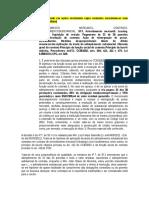 COLAGEM - PRECEDENTE - Arrd - Adimplemento Substancial - Busca e Apreensao Negada