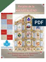 Posters Tiempos Litúrgicos Retablo de La #Hospitalidad Curso 2016-2017