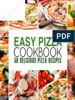 Easy Pizza Cookbook - 50 Delicious Pizza Recipes (2016).epub