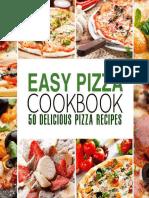 Easy Pizza Cookbook - 50 Delicious Pizza Recipes (2016).epub