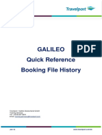 Booking File History
